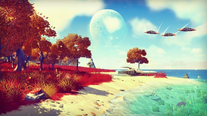 no mans sky, video games, playstation, sony, E3, sci-fi