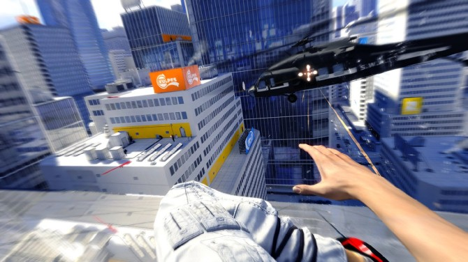 mirror's edge, video games, oculus rift