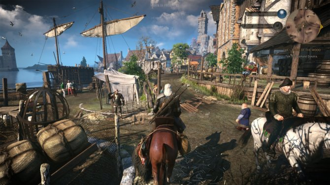 witcher 3, ps4,  RPG